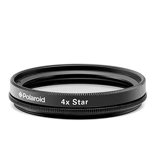 (Polaroid Optics 52mm Rotating 4-Point Star Special Effects Filter –– Compatible w/ All Popular Camera Lens Models)
