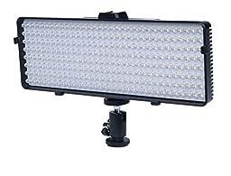 256 LED Video Light For Canon GL1, GL2, XA10, XA20, XA25, XF100, XF105, XF200, XF205, XF300, XF305, XH-A1, XH-A1S, XH-G1, XH-G1S, XL-H1, XL-H1A, XL-H1S, XL1, XL1S, XL2 Camcorder