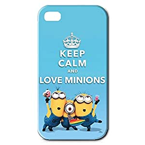The Minions Rubber Gel Silicone Protective Phone Case,Iphone 4 Phone Case Cover For Iphone 4