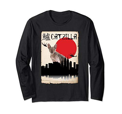 - Lykoi Catzilla Long Sleeve Shirt