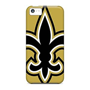 Durable New Orleans Saints Back Cases/covers For Iphone 5c wangjiang maoyi