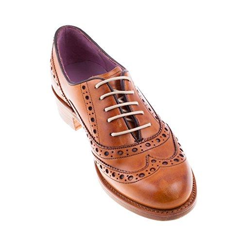 Barker - Zapatos de cordones para mujer blank rojo (cedar)