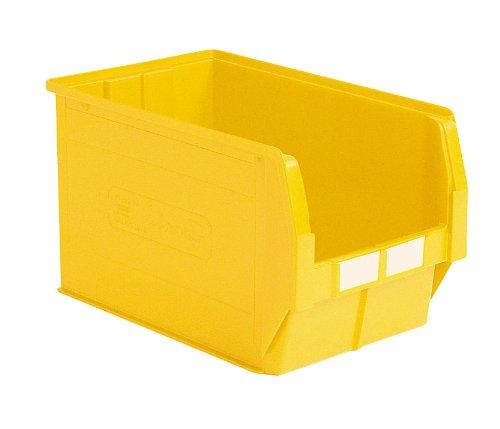 Bac plastique /à bec 42 litres jaune