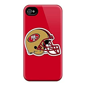 Hot Fashion CsZ2092mVjw Design Case Cover For Iphone 4/4s Protective Case (san Francisco 49ers 2)