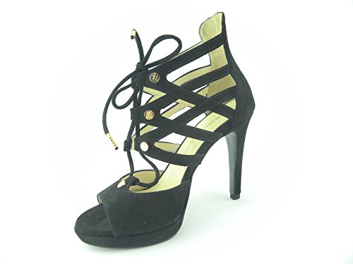 Trussardi Jeans - Sandalias de vestir de Piel para mujer negro negro negro