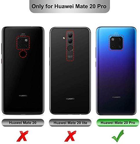 Teeyee Funda Huawei Mate 20 Pro,Parachoques Resistente a los ...