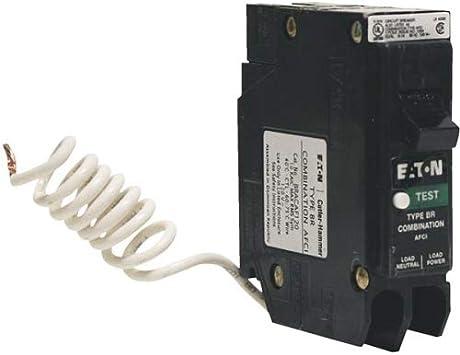 10 PCS BRN120DF Eaton 20-Amp 1-Pole Dual Function AFCI//GFCI Circuit Breaker