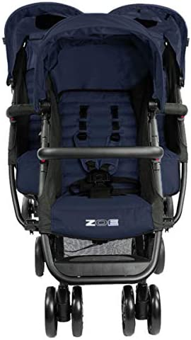 Babify Twin Air Buggy Approved up to 22 kg Lightweight and Compact Soft Grey