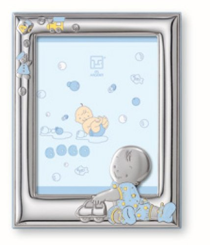Sterling Silver Matt (Silver Touch USA Sterling Silver Picture Frame, For A Boy)