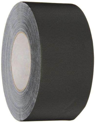 Polyken 510 Vinyl Coated Cloth Premium Gaffer's Tape, 11.5 mil Thick, 50m Length, 72mm Width, Black