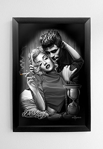 james dean and marilyn poster - 7