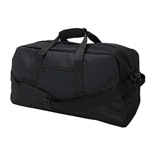 "DALIX 18"" Black Duffle Bag"