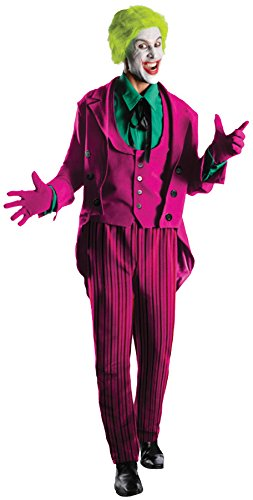 Rubie's Costume Grand Heritage Joker Classic TV Batman Circa 1966, Multi-Colored, Standard Costume