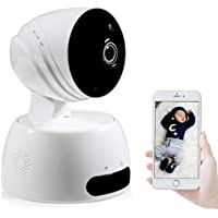 NexGadget 720P HD Security Wireless IP Camera with Two-way Audio, Night Vision, Motion Detection for Pet & Baby