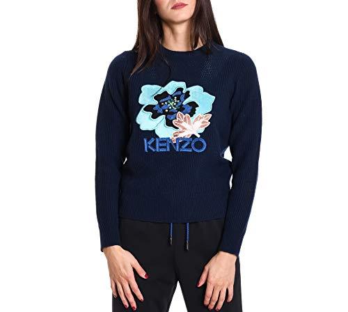 Lana Donna F862to52185076 Maglione Blu Kenzo PavwZqw