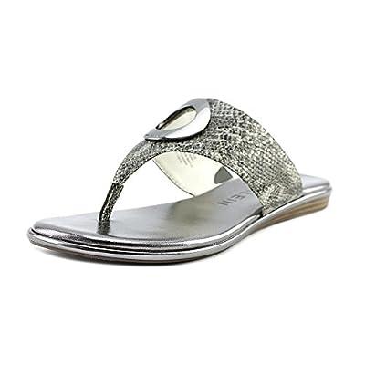 Anne Klein Women's Gia Reptile Flip-Flop