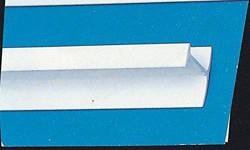 BINARIO A T IN PLASTICA ML.2, 5 Confezione da 10PZ nextradeitalia