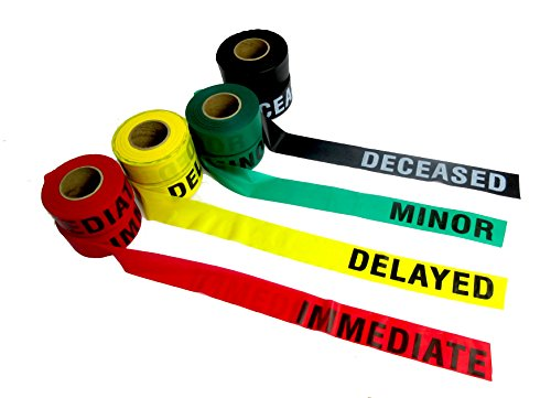 Crime Scene CSI TRIAGE Triage Tape