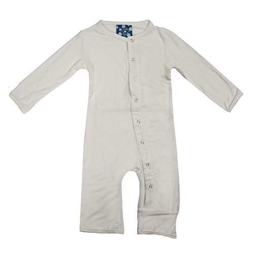 KicKee Pants Coverall, Natural, -3 Months