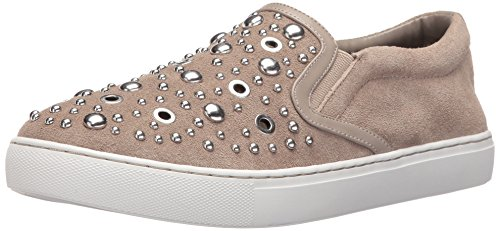 Sam Edelman Women's Paven Fashion Sneaker, Putty Suede, 8 M US