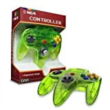 Video Game Accessories EXTREME GREEN N64 Controller - New in Box (Nintendo 64) Classic Joypad Design