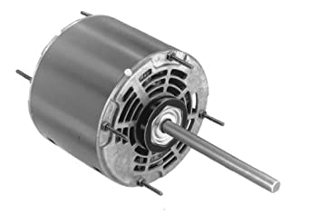 "Fasco D782 5.6"" Frame Open Ventilated Permanent Split Capacitor Window A/C Condenser Fan and Direct Drive Blower Motor with Sleeve Bearing, 1/4HP, 1625rpm, 115V, 60Hz, 3.5 amps"