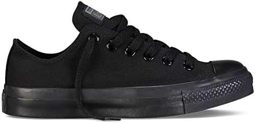 Converse Chuck Taylor All Star Ox Sneakers (6.5 Men 8.5 Women, Black Monochrome)