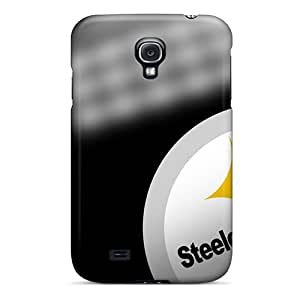 Carolcase168 Cases Covers For Galaxy S4 - Retailer Packaging Pittsburgh Steelers Protective Cases
