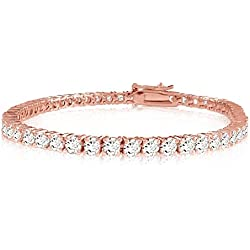 2-20 Carat Classic Diamond Tennis Bracelet Ultra Premium Collection