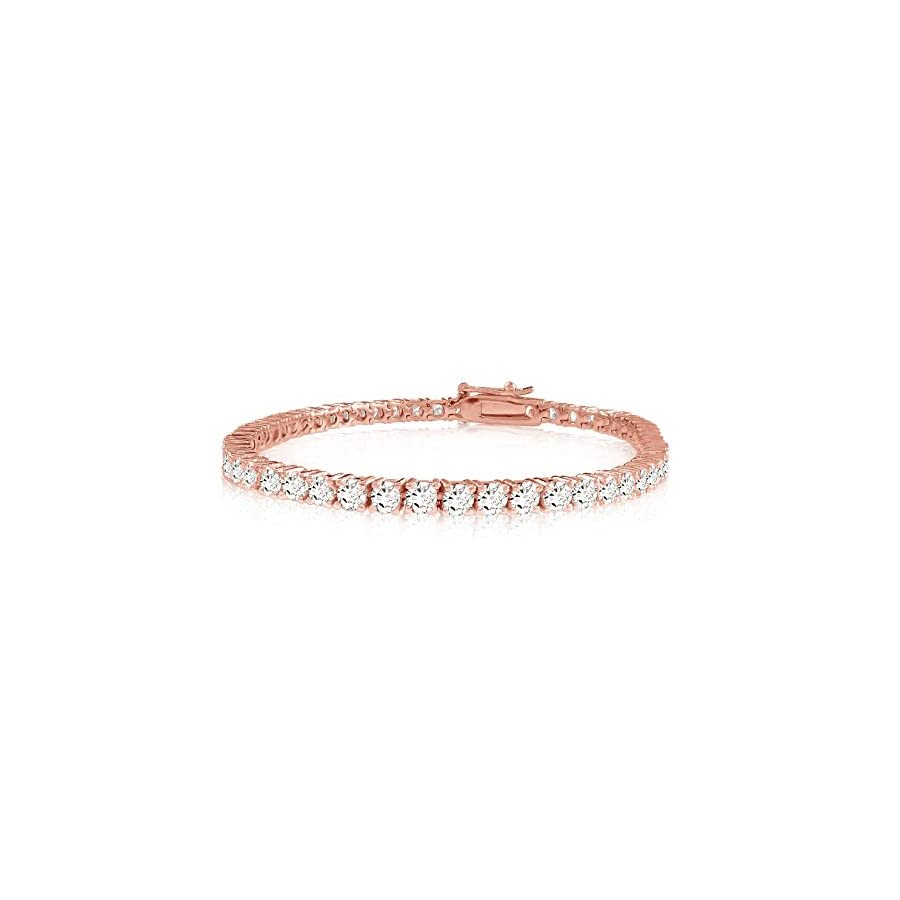 2 20 Carat Classic Diamond Tennis Bracelet Value Collection