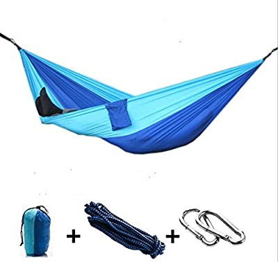 Solefun Large Size Traveling Camping Parachute Portable Hammock with Straps