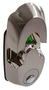 NX5 High Security Biometric Deadbolt in Satin Nickel