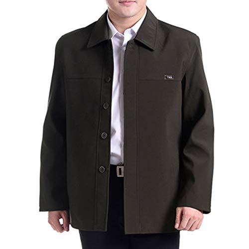 New Large Men's Coat 05 Tops Winter and Autumn BOZEVON Men Size Casual Jacket Jacket Style Lapel B8waaY