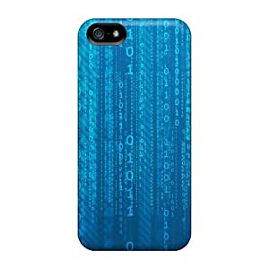 New Style Tpu 5/5s Protective Case Cover/ Iphone Case - Matrix Binary