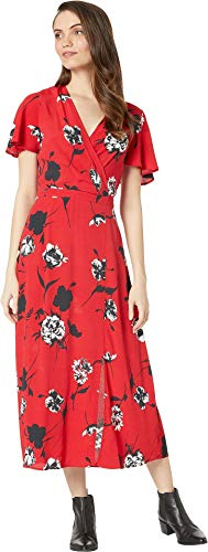 (Yumi Kim Women's Milan Story Dress, Tango Red, X-Small)