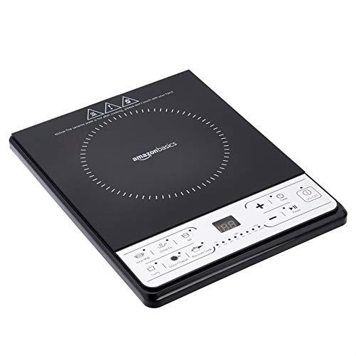 AmazonBasics Induction Cooktop 1600 Watt (Black)
