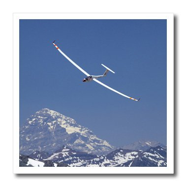 3dRose ht_85859_1 Airplane in FAI World Sailplane Grand Prix, Chile - David Wall - Iron on Heat Transfer for White Material, 8 by 8-Inch