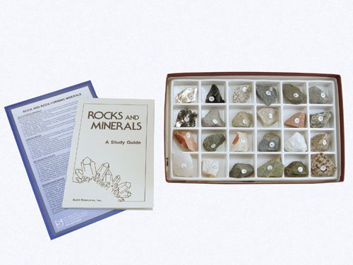 American Educational Products 2124 Rocks And Rock Forming Mineral Collection