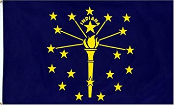 Image result for Indiana State Flag