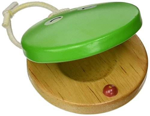 Green Tones Hohner Frog Castanet, inch 3721 )