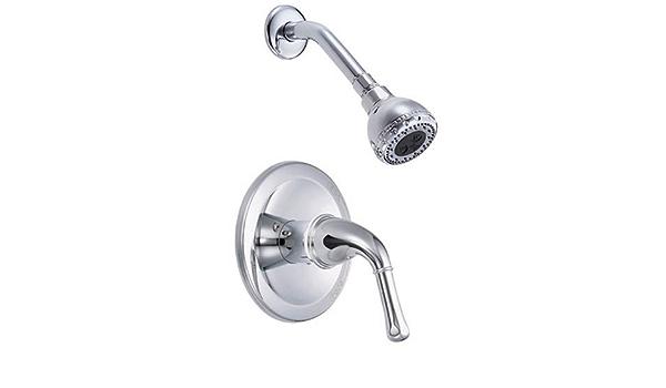 Danze D500571 Plymouth Single Handle Shower Only Faucet Chrome Bathtub And Showerhead Faucet Systems Amazon Com