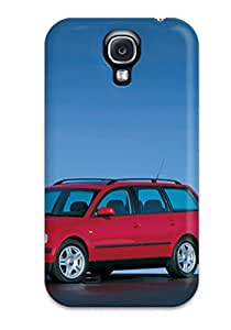 Hot Style GjKMmfS3965YTOGR Protective Case Cover For Galaxys4(1997 Volkswagen Passat Variant)