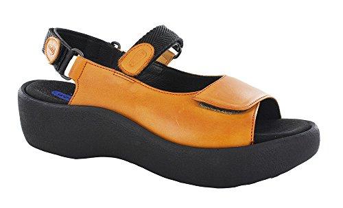 WOLKY Womens Sandals 3204 Jewel Orange, Size-39