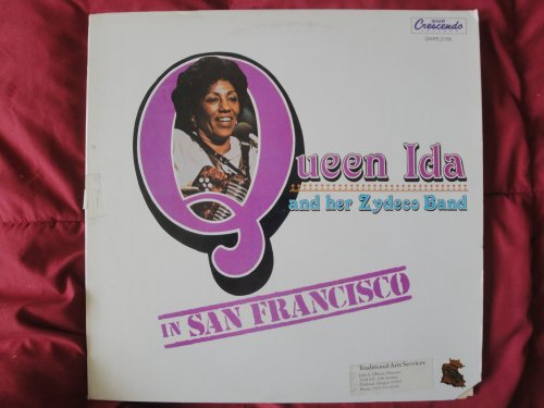 Queen Ida and Her Zydeco Band ''In San Francisco'' Original 1983 GNP Crescendo Records GNPS 2158 Vinyl Lp Cajun Jazz Classic Record EX by GNP CRESCENDO RECORDS
