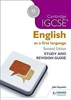 Cambridge IGCSE English First Language Study And
