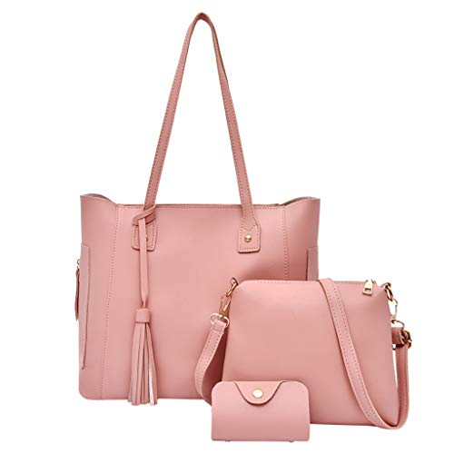 Tronet Crossbody Shoulder Bags, Fashion Composite Bag Shoulder Crossbody Handbag Bag for Women Girls 3Pcs