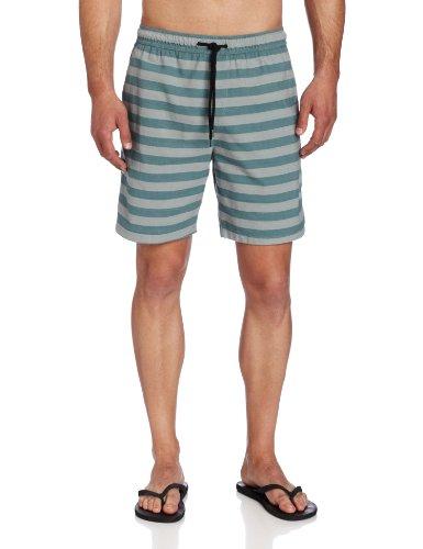 Hurley Men's Poolside Volley Fit Walkshort, Fuel Blue, Large