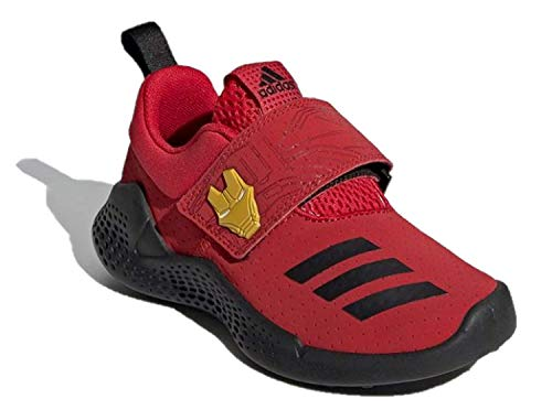 adidas Unisex Kids RapidaBounce Training Marvel Avengers C Limited Edition Sneakers Iron Man EE9316 Size 1 Youth