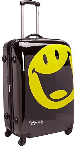Price comparison product image Smiley World Happy Hardside Spinner Luggage Bag