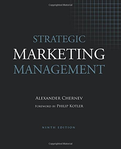 Strategic Marketing Management, 9th Edition